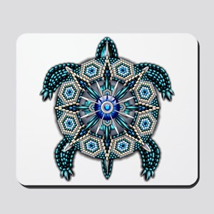 Native American Turtle 01 Mousepad